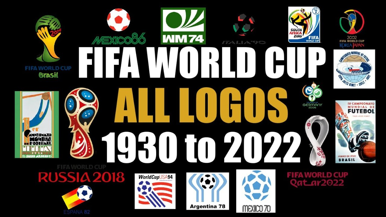 All Logos of FIFA World Cup from (1930 to 2022) | FIFA World Cup | #FIFA #FIFAWorldCup #WorldCup2022