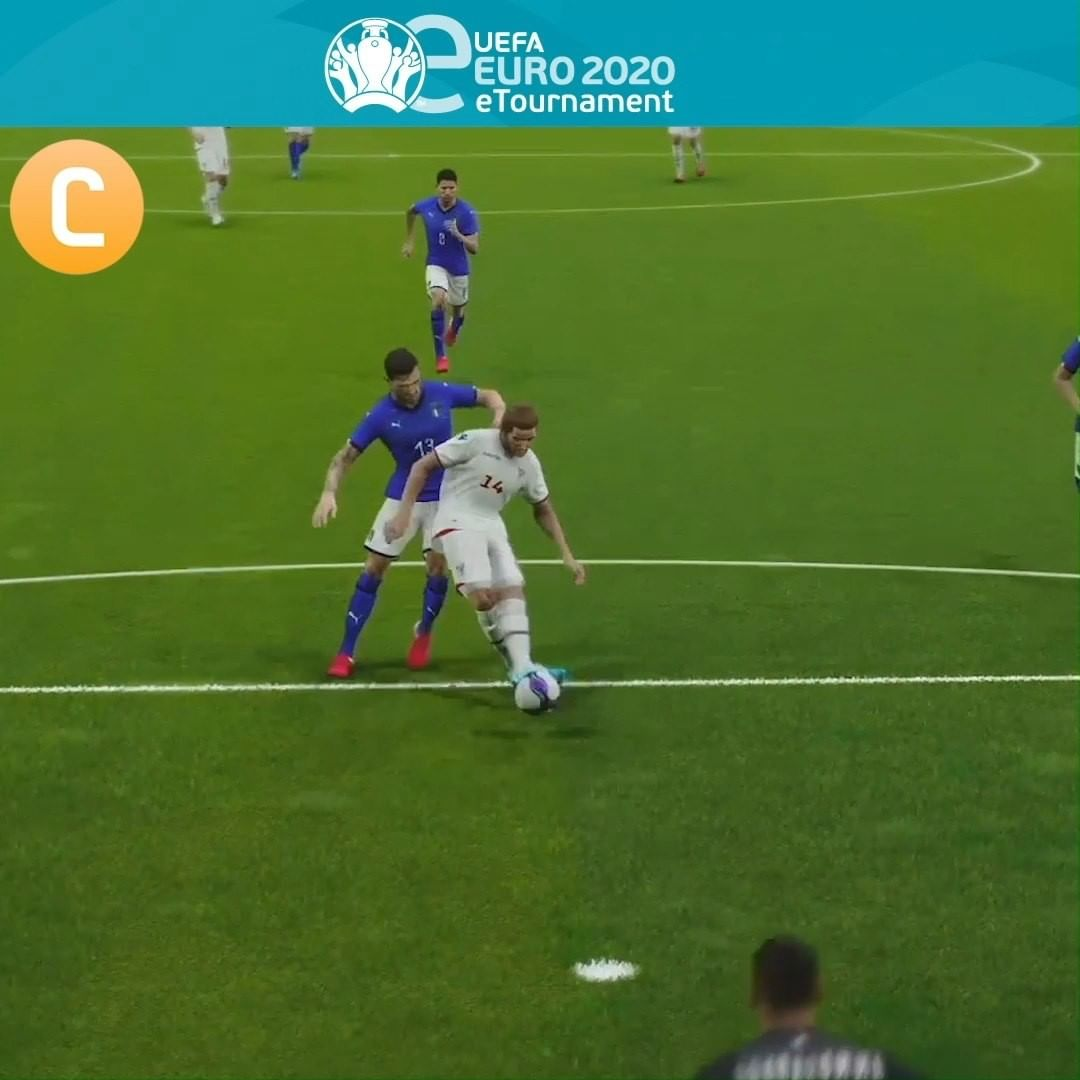 A, B, C or D? Best save from eEURO qualifying is _____  The  final tournament i...