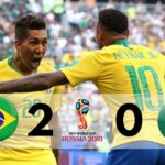 Brazil 2-0 Mexico | 2018 World Cup, Round of 16 | Goals & Highlights extended