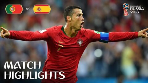 Portugal v Spain   2018 FIFA World Cup Russia   MATCH 3