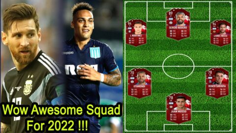 OMG!? New Argentina Squad for 2022 World Cup Qualifiers & Friendly Matches | ft- Leo Messi, Martinez