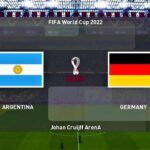 PES 2020   ARGENTINA vs GERMANY   FIFA WORLD CUP 2022   Match Gameplay
