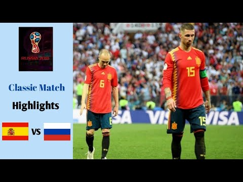 Spain vs Rusia 1-1 (Pen.3-4) | FIFA World Cup 2018 | Highlights | Classic Match
