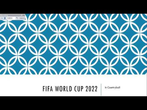 FIFA World Cup 2022. In Countryballs. (Group A-C)